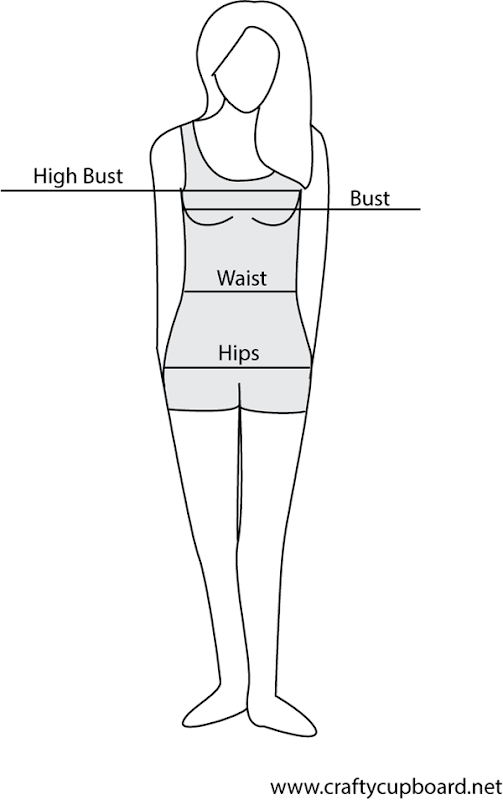 Woman-pattern-measuring