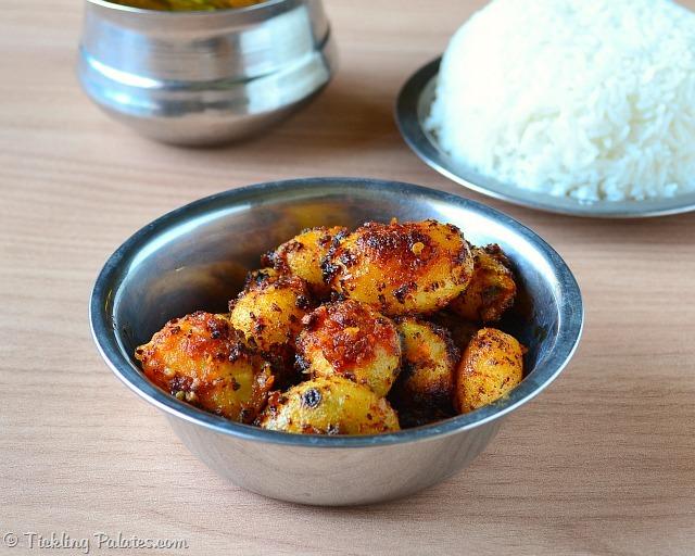 Baby Potato Sambal Recipe