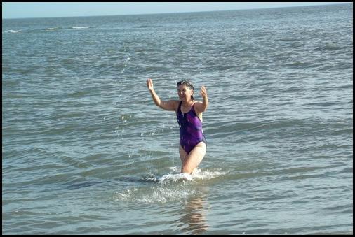 At the beach 021