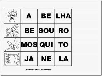 jogo das sílabas