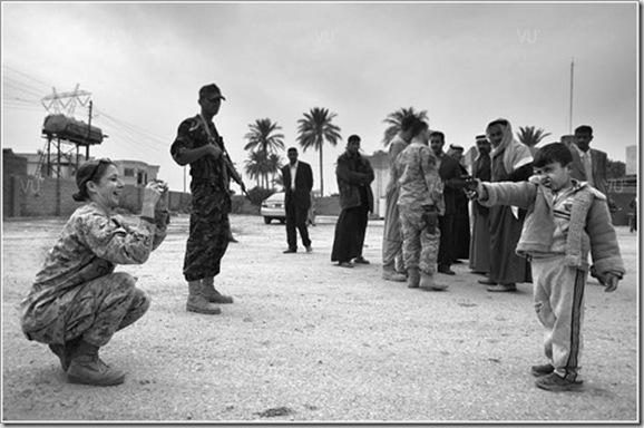 Policía iraquí, noviembre 2006 © Alvaro Ybarra Zavala