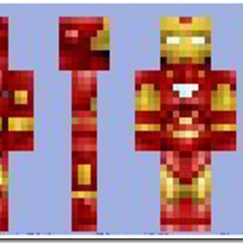 Minecraft 1.2.5 - Iron Man skins