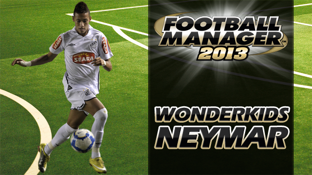 Football Manager 2013 Wonderkid - Neymar