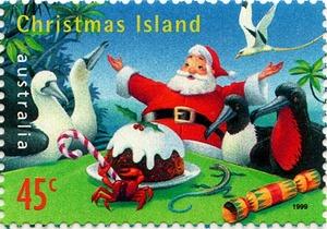 Christmas Stamp Collection: Christmas Greeting 1999 – Christmas Island