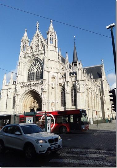 サブロン教会 Notre Dame du Sablon