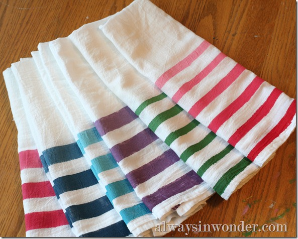 Ombre_painted_flour_sack_towels (8)