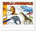 Desenhando animais selvagenss