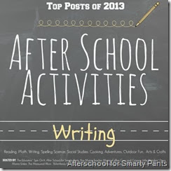 Top Writing Activities for After School