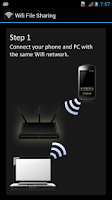 Screenshot of Wifi File Sharing