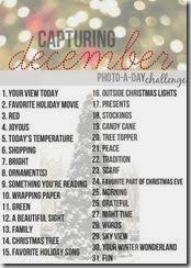 Capturing December