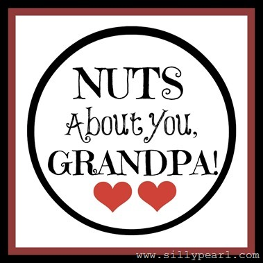 Nuts About You Tag - Grandpa