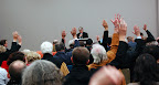 The meeting endoresed the CRG principles unanimously on a show of hands.