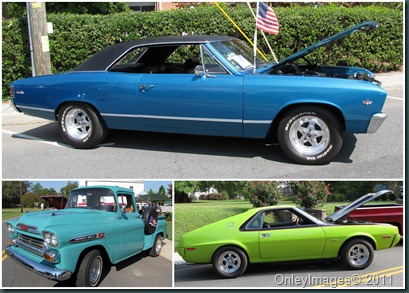 colorful cars collage