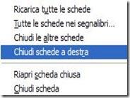 Aggiungere Chiudi schede a destra su Firefox come su Google Chrome
