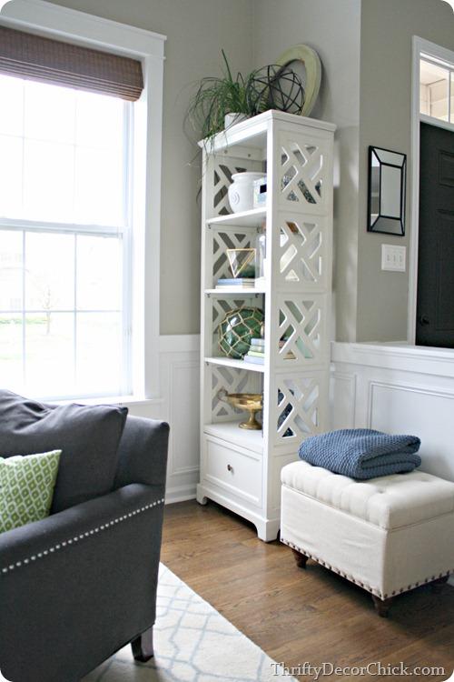 skinny bookcase