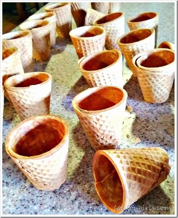 sugar cone tea cups1