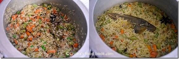 Spicy veg pulao