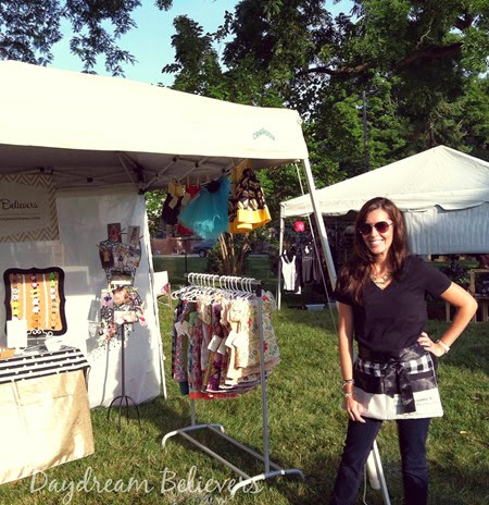 Daydream Believers Boutique Art Fair Display