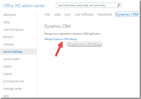 4 manage dynamics crm setting