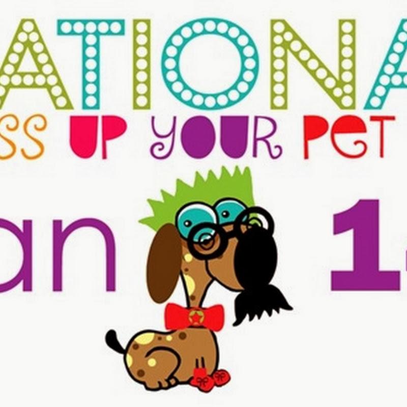 Día Nacional de Vestir a la Mascota