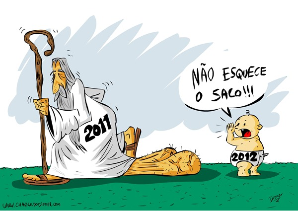 Charge Ano Novo 2012