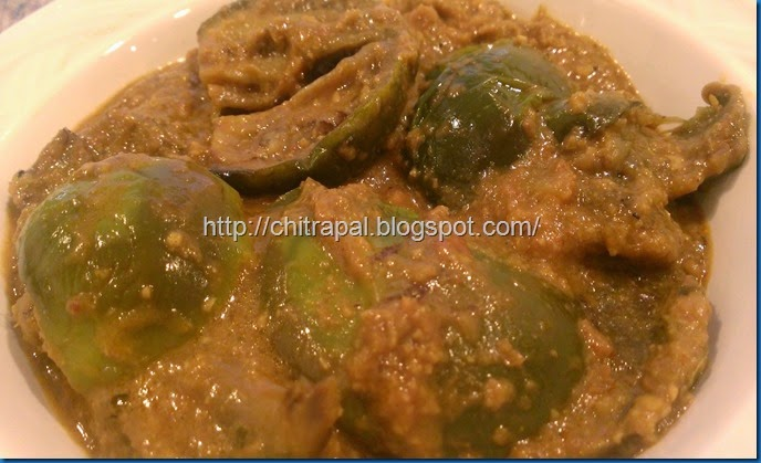Chitra Pal South Indian Style Baingan or Eggplant (3)