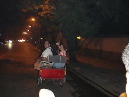 Tuk tuk in Beijing