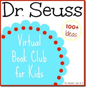 Dr.  Suess Ideas Virtual Book Club 100