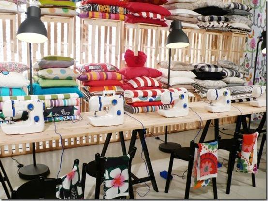 Fuorisalone 2012 - cucito creativo - serata Hemma Ikea 1
