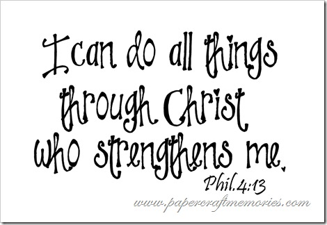 Philippians 4:13 WORDart by Karen for personal use