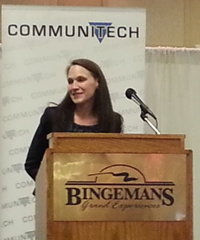 April Dunford at the Tech Leadership Conference 2013 (photo by Promod Sharma)