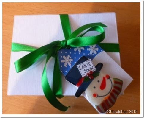 Boxed Elizabeth Shaw Mints. Christmas gift