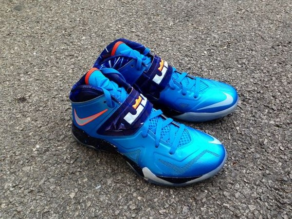 Another Look at LeBron Nike Zoom Soldier VII 8220Galaxy8221