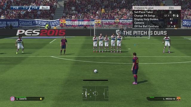 Análisis de PES 2015 para PC - XOne - PS4 - X360 - PS3