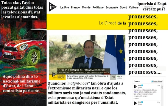 Ipocrisia d'Estat França a Orador de Lemosin