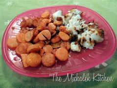 Baby Coconut Cod w Saute Carrots