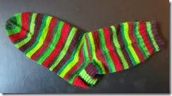Chirstmas Carol - Sock 1 Complete