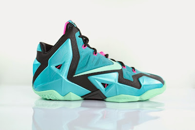 nike lebron 11 gr south beach 5 05 Release Reminder: Nike LeBron 11 South Beach