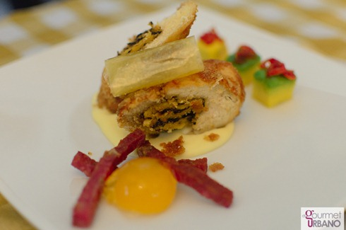 Envoltini de pollo por Waikei Leung Fotgrafo: Luis E. Blanco