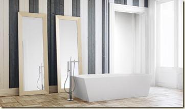decoración moderna para baños grandes-r