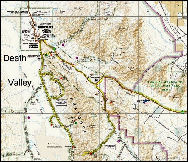 MAP-Death Valley National Park-2