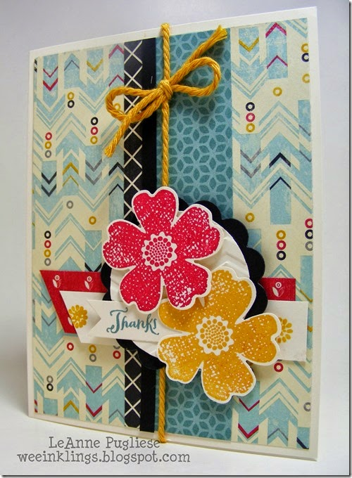 LeAnne Pugliese WeeInklings Mojo Monday Flower Shop Stampin Up