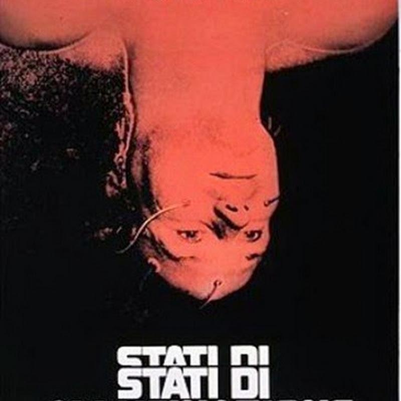Stati di allucinazione film cult visionario, apocalittico e integrato.