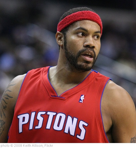 'Rasheed Wallace' photo (c) 2008, Keith Allison - license: http://creativecommons.org/licenses/by-sa/2.0/