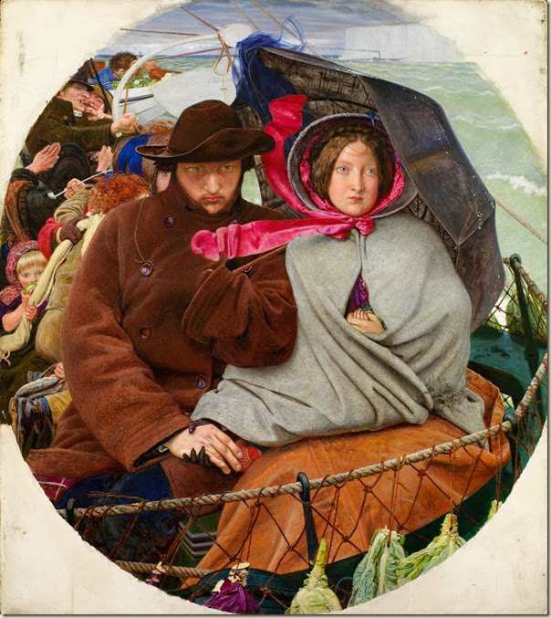 Ford Madox Brown, Brown et sa femme Emma