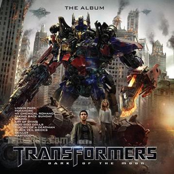 รายชื่อเพลงในอัลบั้ม Transformers Dark of the Moon - The Album อย่างไม่เป็นทางการ