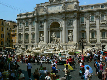 Travel to Rome: Fontana di Trevi