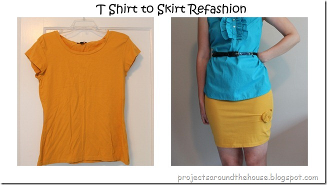 t shirt to skirt