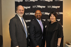 New Jersey Governor Jon Corzine, Philadelphia Mayor Michael A. Nutter and NYU Wagner Dean Ellen Schall