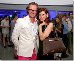MIAMI BEACH, FL - DECEMBER 03: Karsten Thamm (L) attends the Porsche Design x Thierry Noir Art Basel Miami Beach Event at The Temple House on December 3, 2013 in Miami Beach, Florida.  (Photo by Neilson Barnard/Getty Images for Porsche Design)